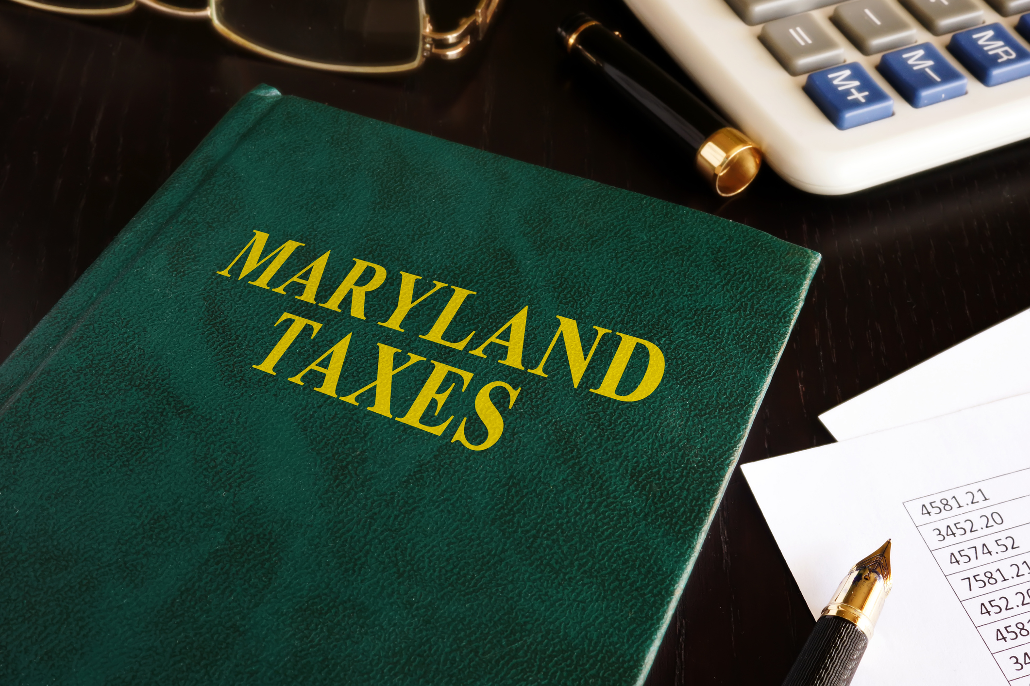 Maryland and sales tax